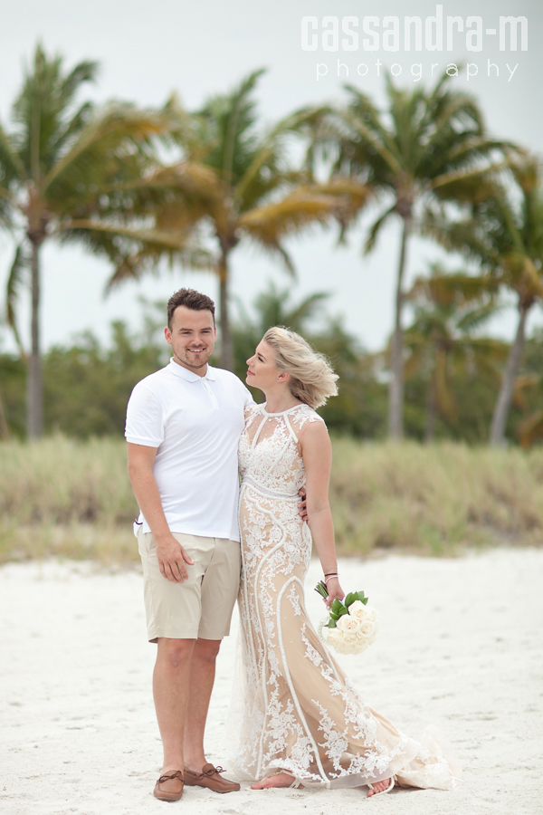 Lauran ben smathers beach wedding key west fl for Key west wedding dresses
